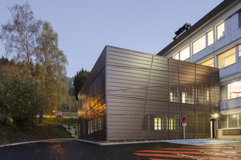 Maison de la Gentiane, Maison de santé, Riom es Montagne (France)