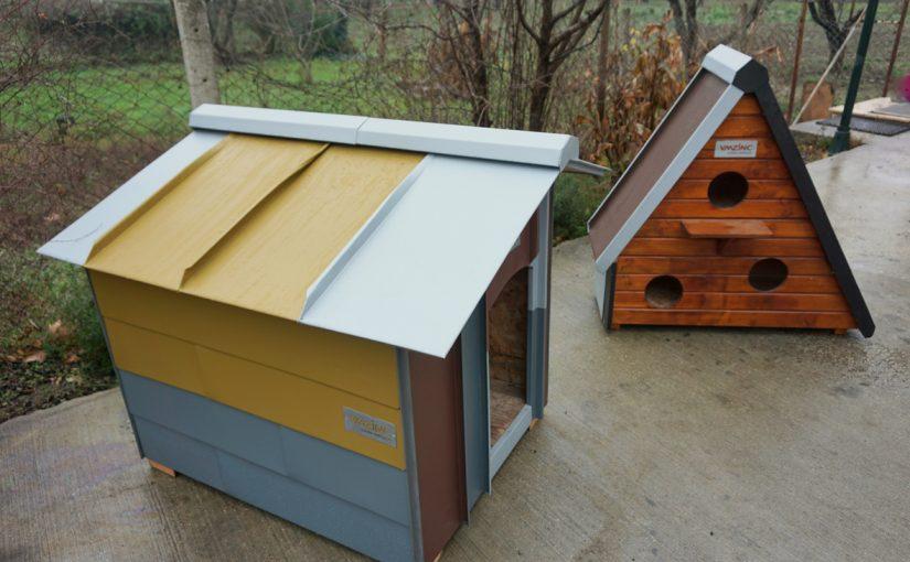 Tiere suchen ein Zuhause – VMZINC hat's gebaut