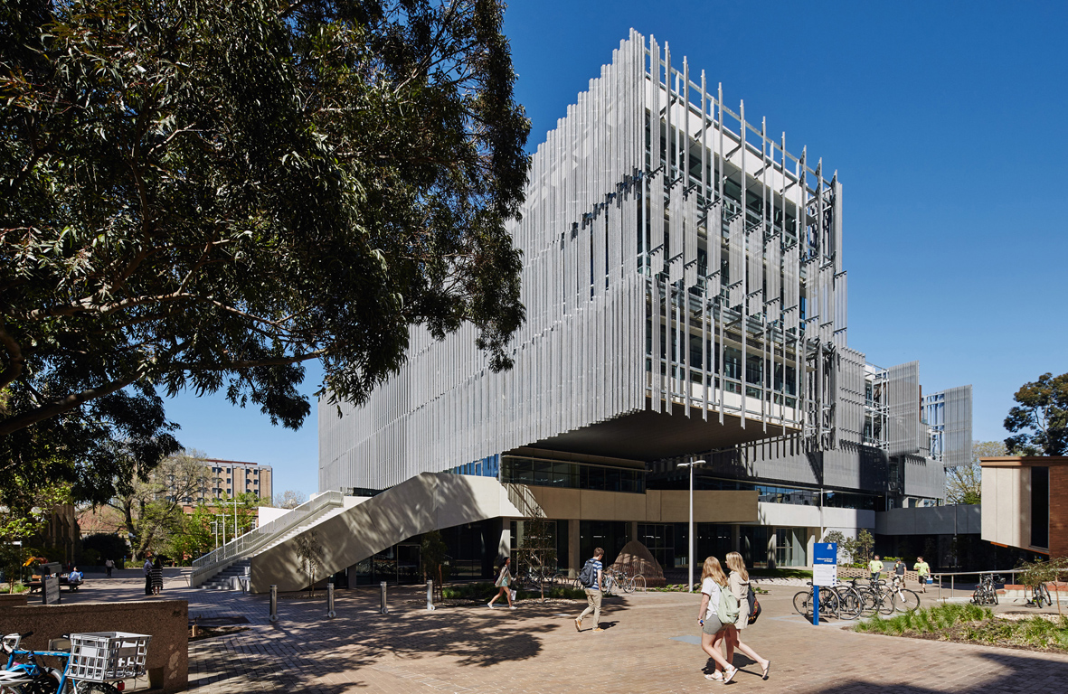 Melbourne University Faculty of Architecture Building, Victoria (Australia)