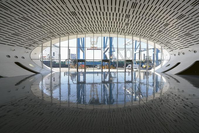 New Limassol Port Passenger Terminal (Cyprus)