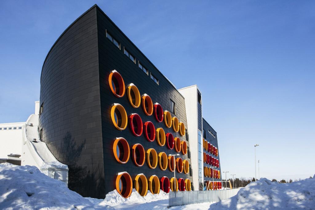 Raketskolan, Kiruna (Sweden)