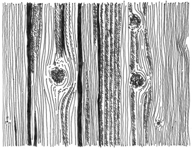 Holzmaserung klein