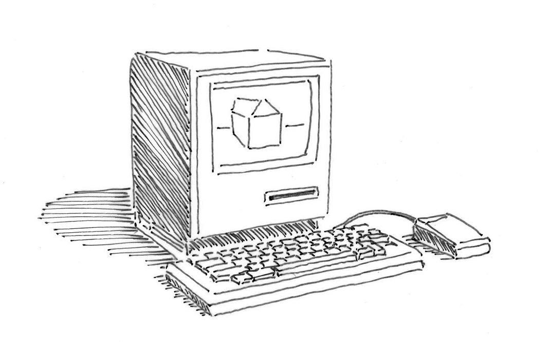 Computer klein