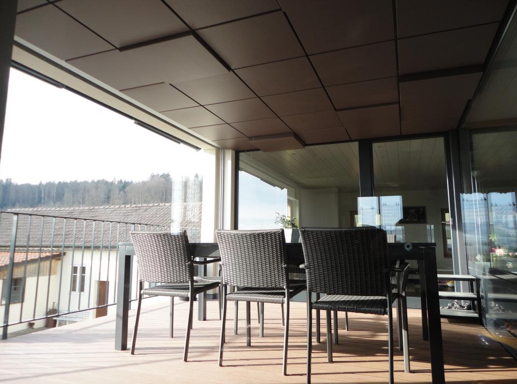 Plafond Terrasse, Villaz-St-Pierre (Suisse)