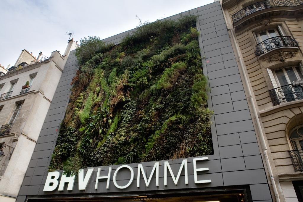 Magasin BHV Homme, Paris (France)