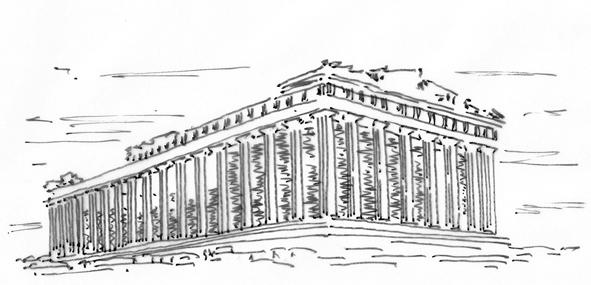 Parthenon klein